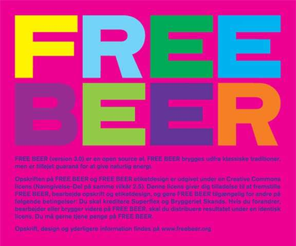 Hackable Beer / Free Beer