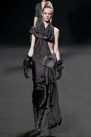 Goth Peek-a-Boo Gowns