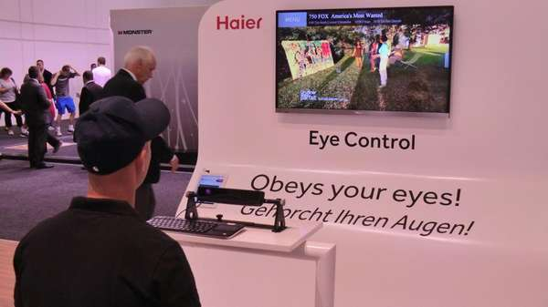 Haier brain controlled TV