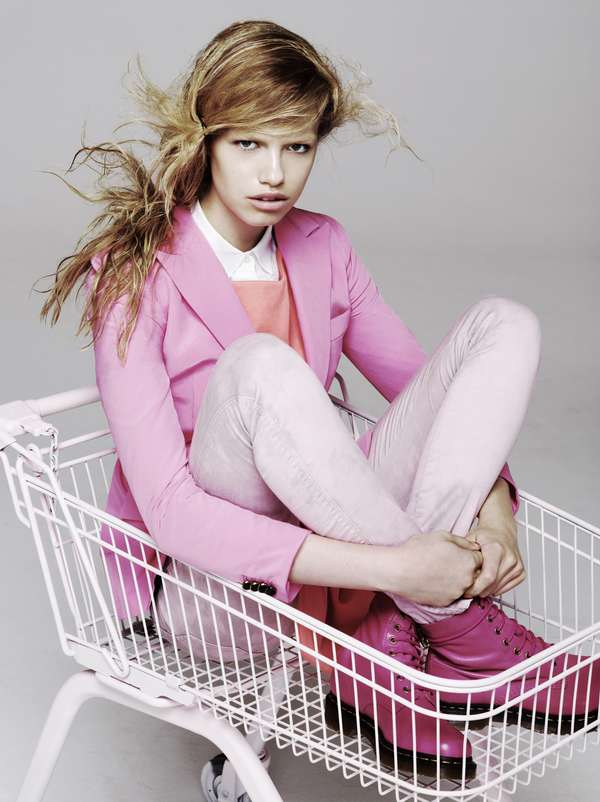 hailey clauson for exit magazine spring summer 2012