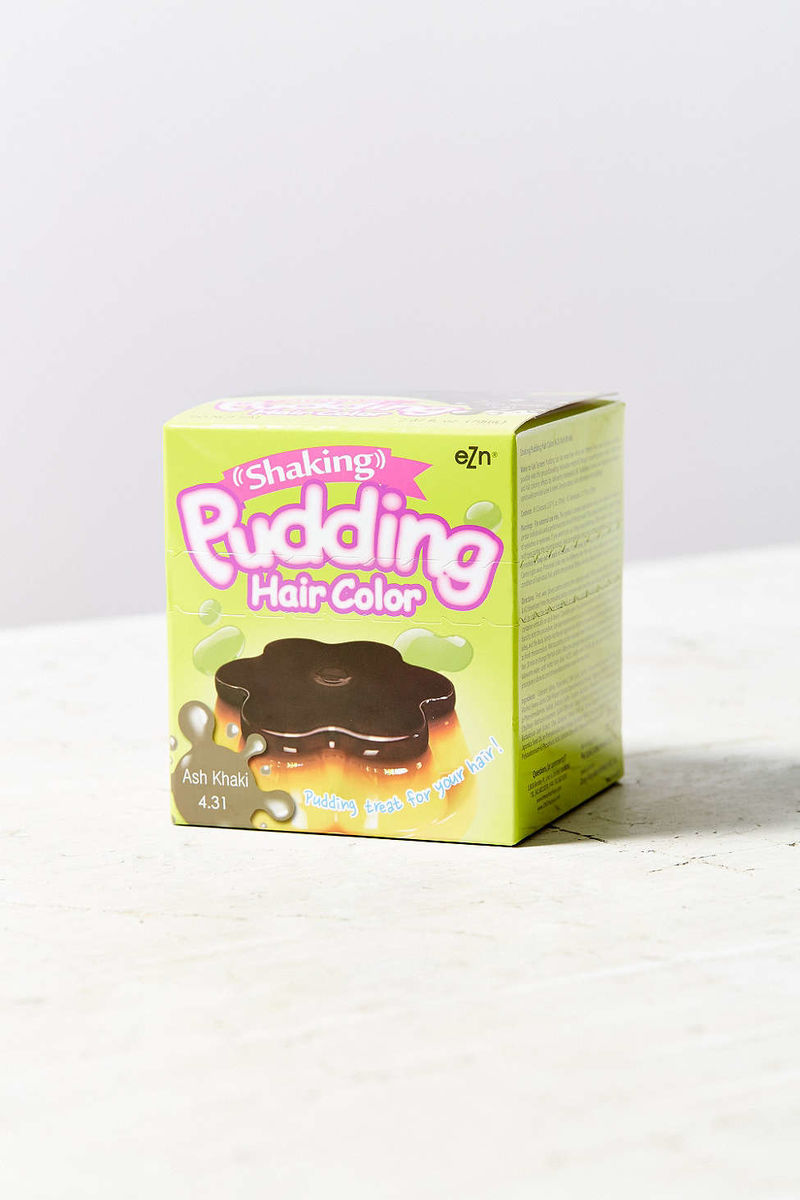 Pudding-Inspired Hair Products