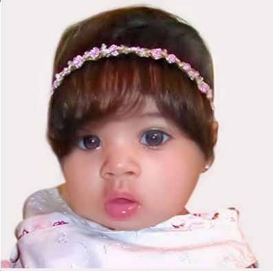 hair extensions for babies babybangs give instant hair to