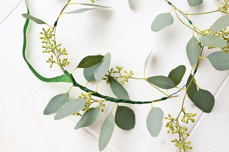 Wintery Eucalyptus Wreathes