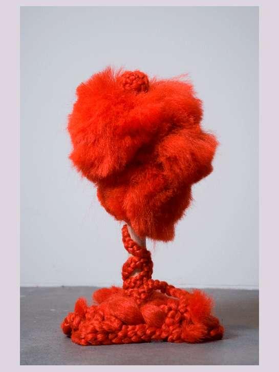 Crazy Colorful Hair Sculptures