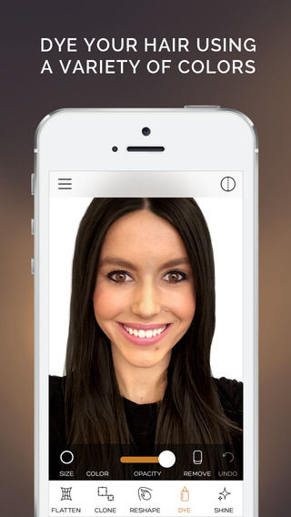 Digital Hair-Editing Apps