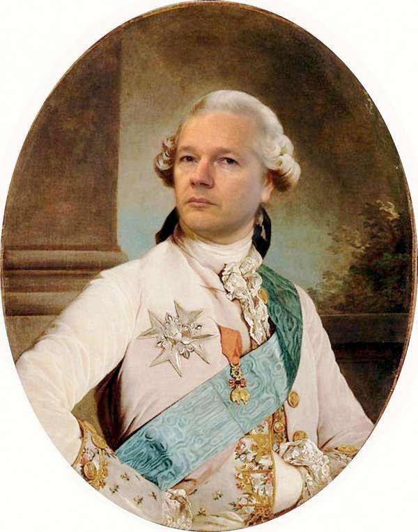 Hair Style for Julian Assange