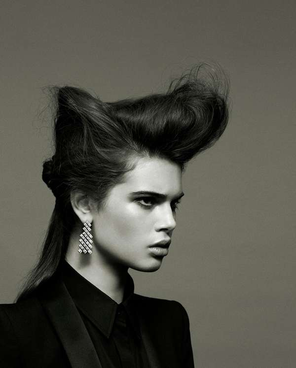 Structural Hair-Focused Photography