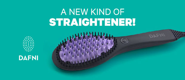 Heat-Transferring Hairbrushes