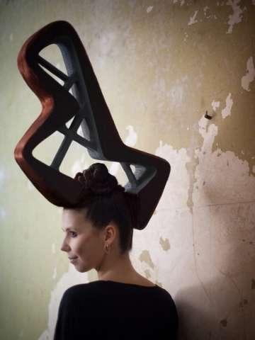 Sculptural 3D Tresses