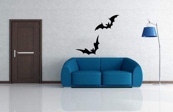 Halloween Bat Decals