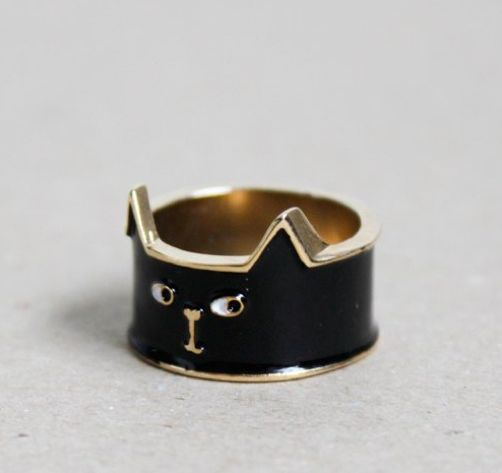 Superstition-Inspired Cat Jewelry