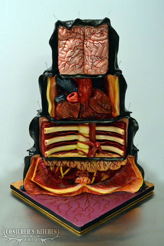 Lifelike Halloween Cakes
