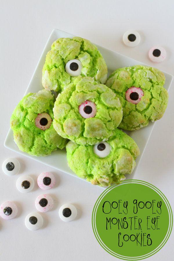 Googly Monster Cookies