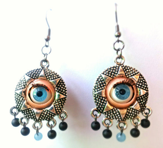 Blinking Eye Earrings