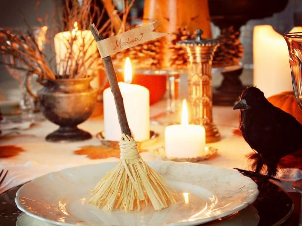 Broomstick Place Cards