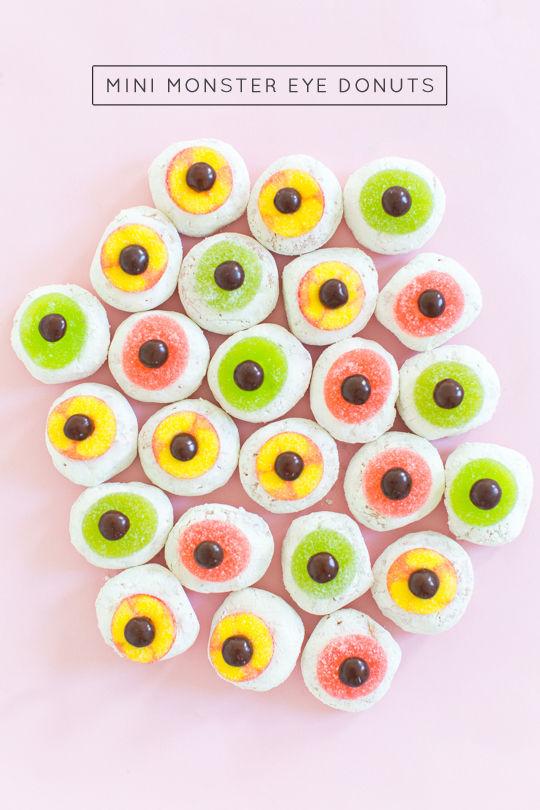 Festive Cyclops Donuts