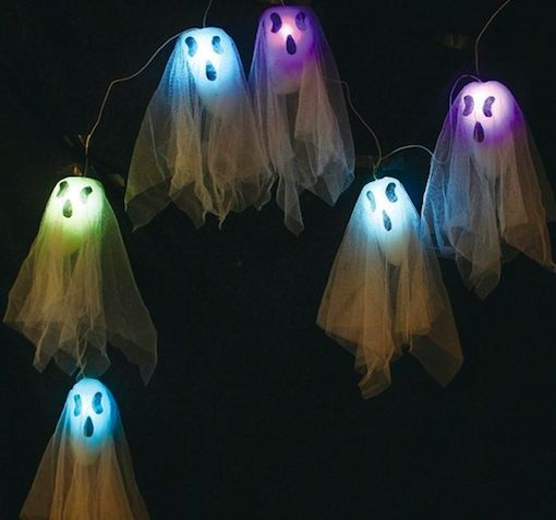 spooky light up decor