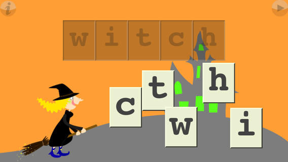 Scary Spelling Apps