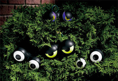 Flashing Eyeball Halloween Lights : halloween lights