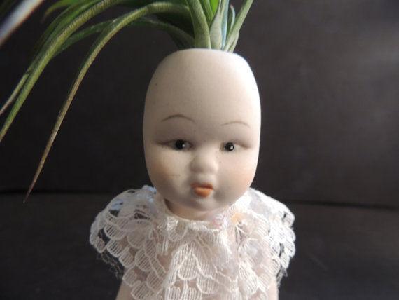 Frightening Doll Plant Holders