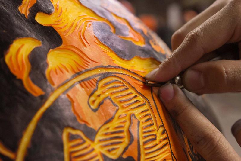 Professional Pumpkin Carvings