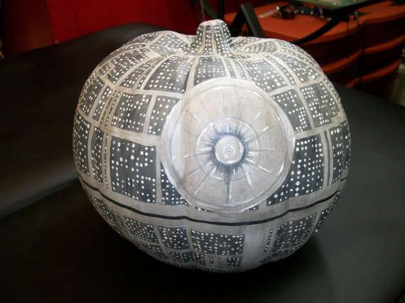 Sci-Fi Halloween Pumpkins