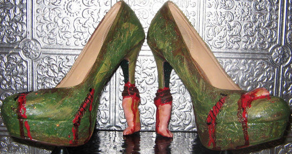 Undead Body Part Heels