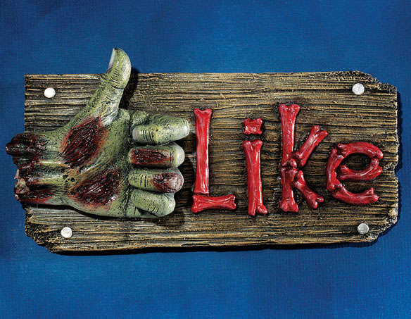 Undead Social Media Decor