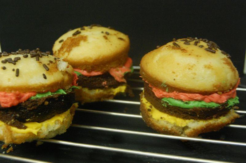 Confectionery Burger Recipes