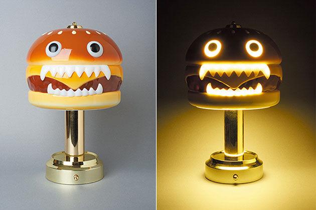 Hamburger Monster Lamps