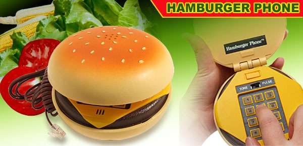 Hamburger Phones in Demand