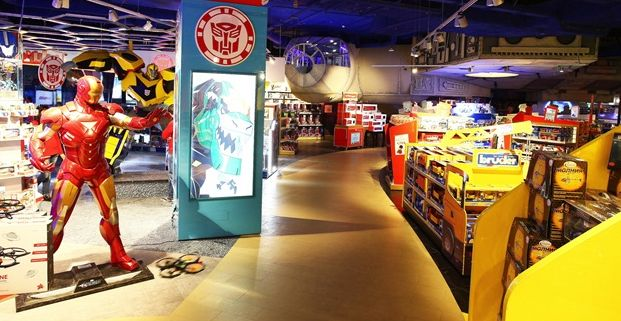 Toy Store In Fashion Valley Mall