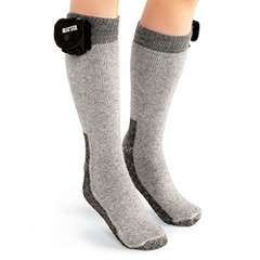 hammacher schlemmer battery-powered socks