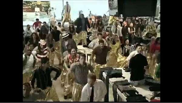 Hammer Pants Flash Mobs