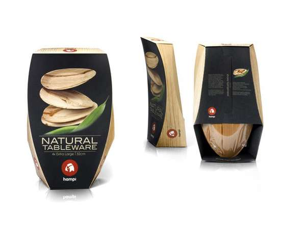 Hampi Natural Tableware Packaging