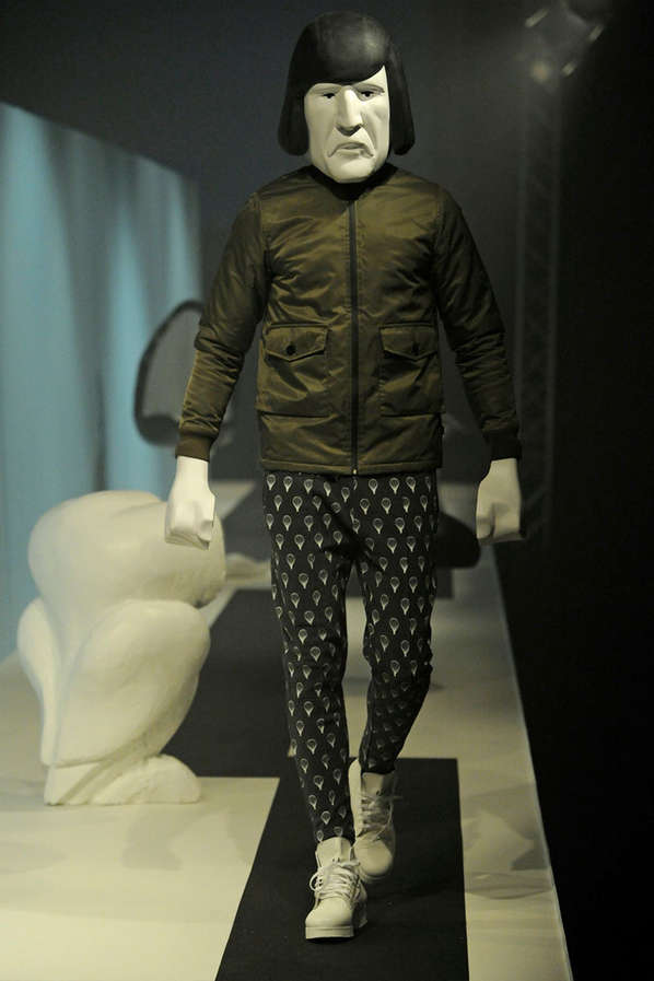 Masked Bobble Head Runways
