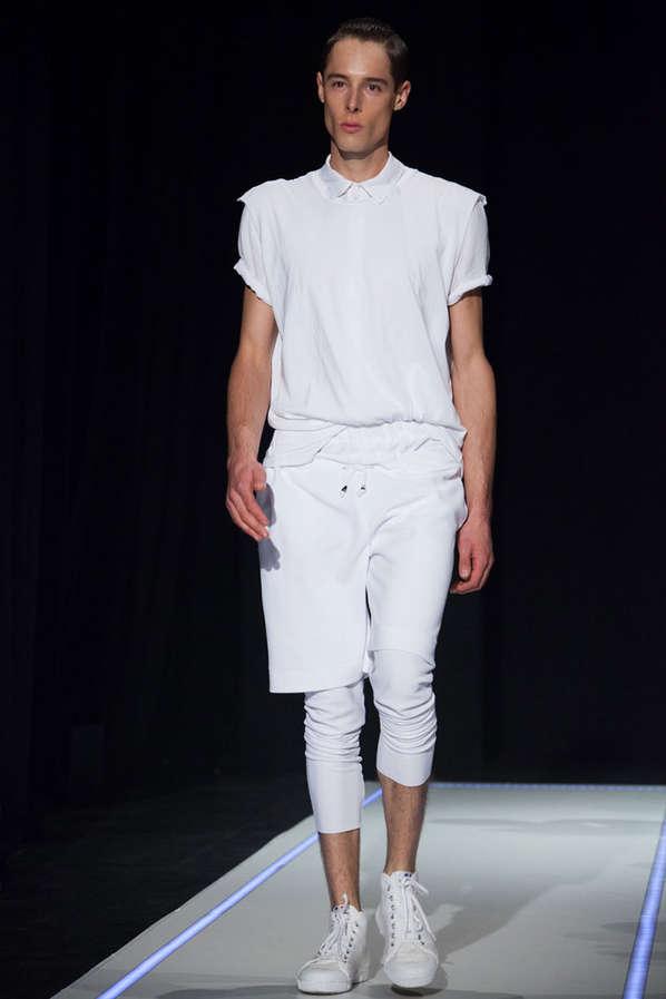 Minimalist Utilitarianism Menswear