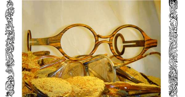 Hand-Carved Wood Glasses