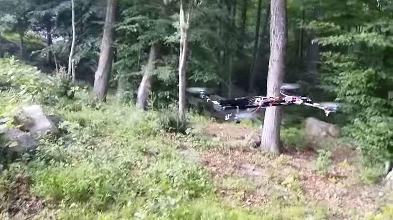 Handgun-Toting Drones
