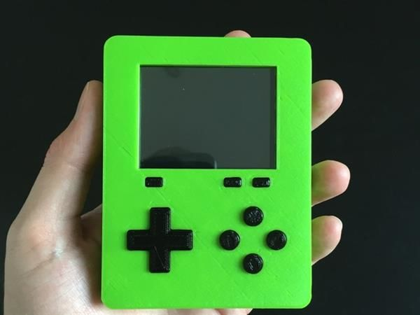 DIY 3D-Printed Video Games