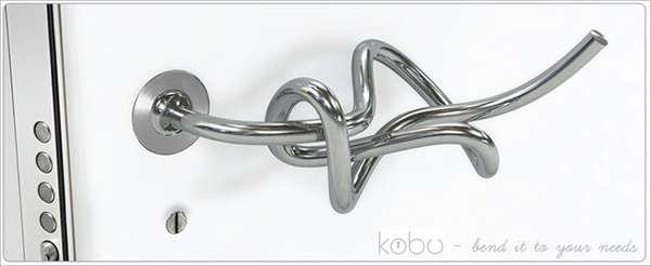 Twisted Door Handles