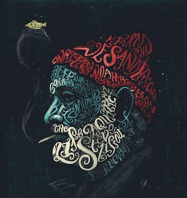 Film-Inspired Typographic Illustrations
