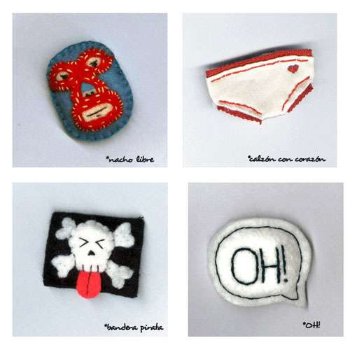 Designer Cotton Pins