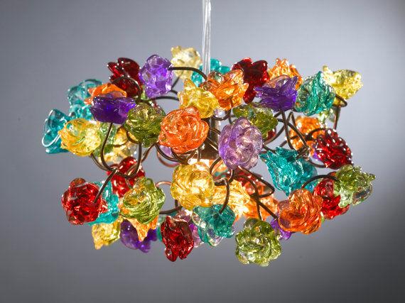 Whimsical Handmade Chandeliers