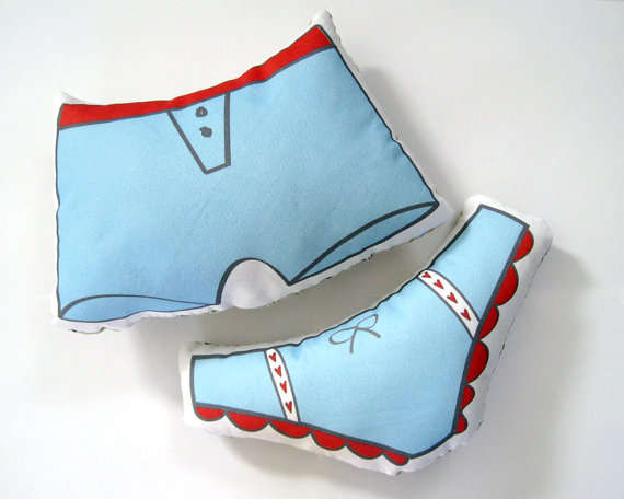 Adorable Underwear Cushions