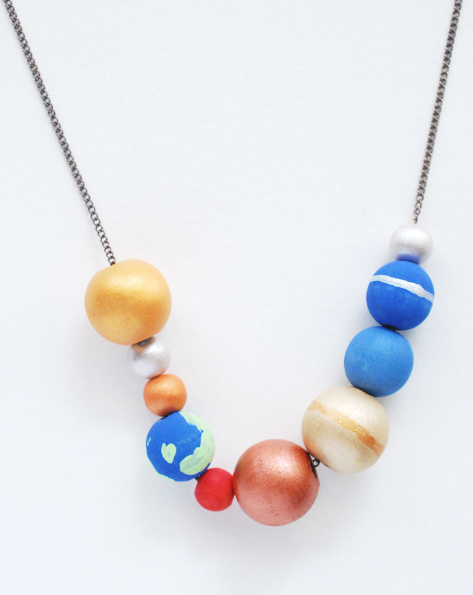 Building Block Necklaces