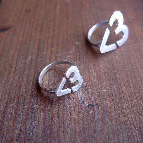 Internet Lingo Love Rings