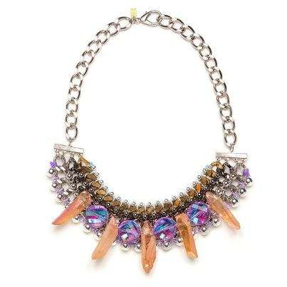 Excessively Bejewelled Necklaces