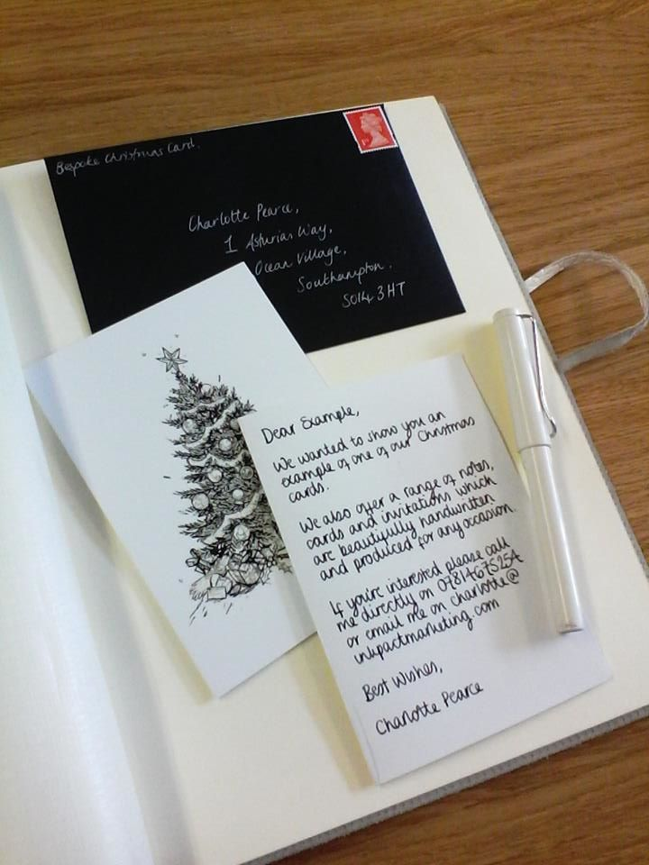 Bespoke Letter-Writing Services