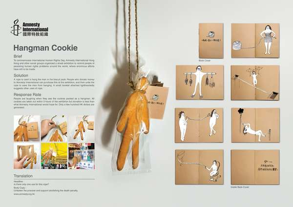 Hang Man Cookies